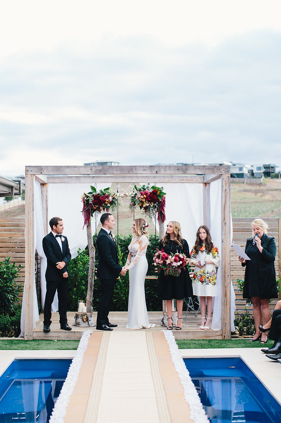 garden wedding in geelong