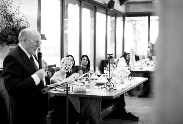 Yarra Valley wedding speeches in Stones