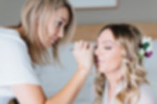 natural photos of bride getting ready, Yarra Valley
