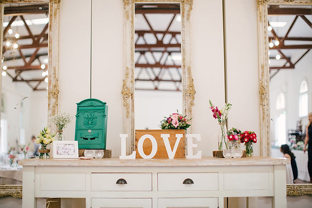 abbotsford convent wedding styling