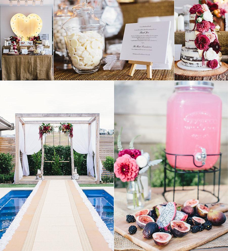 Geelong wedding styling, photos