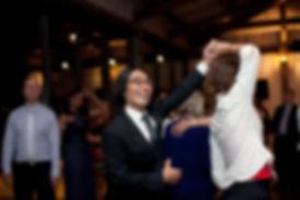 winery wedding dancing in Yarra Glen