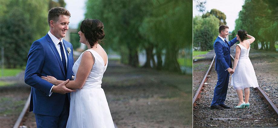 melbourne short wedding dress - casual wedding