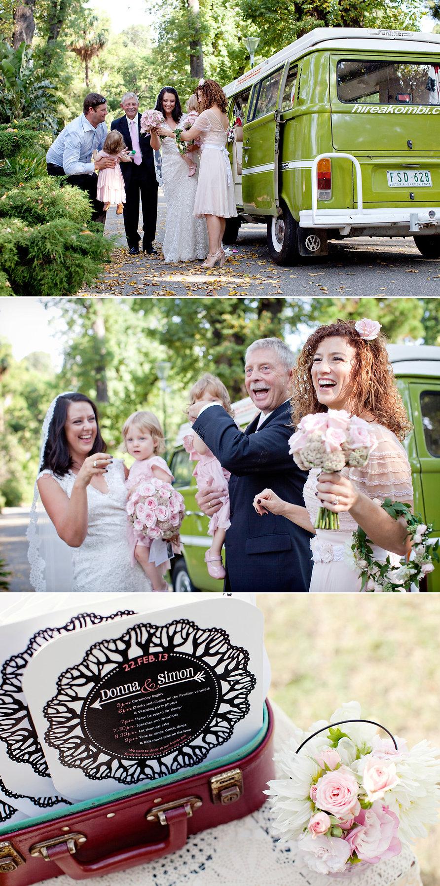 hire a kombi melbourne wedding