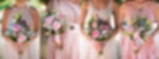 Daylesford wedding flowers - pink