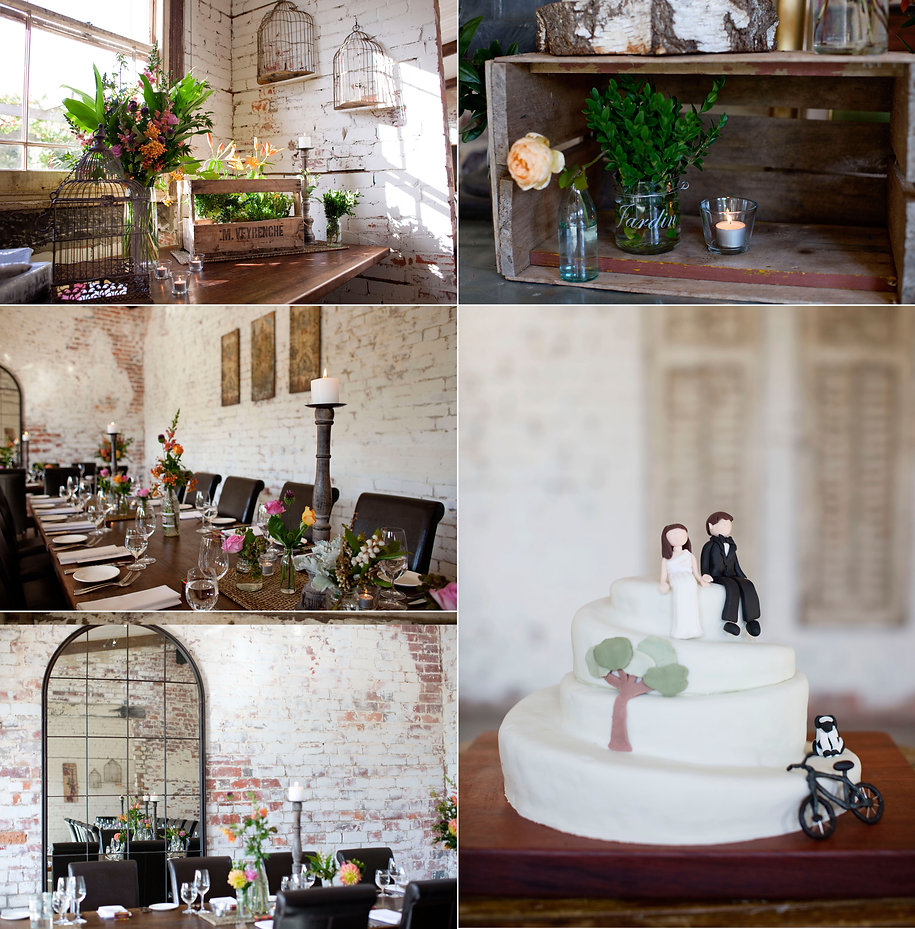 Melbourne rustic wedding decorations and flowers