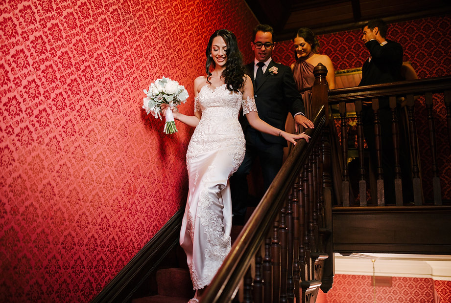 geelong wedding, festive lighting