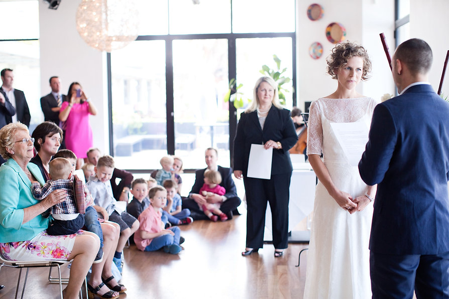 St Kilda Wedding ceremony