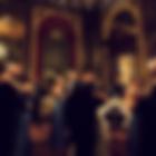 Wedding party dancing in Melbourne ballroom