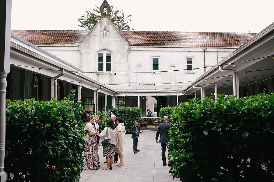 Daylesford outdoor wedding ceremony