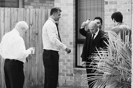 Natural wedding photos in Melbourne