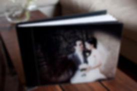 Melbourne flush mount wedding albums