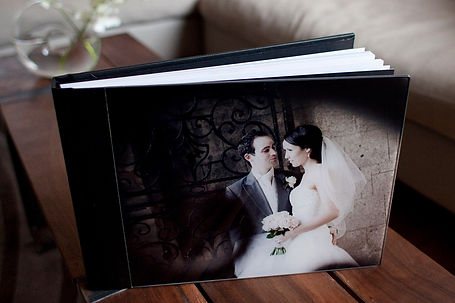 Melbourne flush mount wedding albums