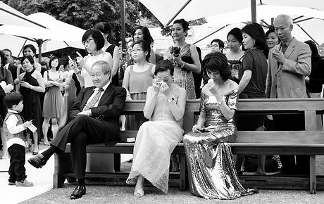 Melbourne garden Wedding photography
