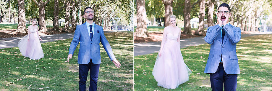 Untraditional wedding photography in Melbourne