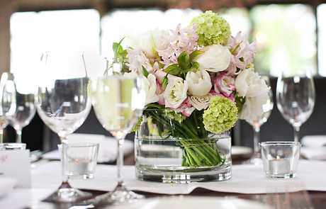 pink, white and green wedding flowers in Melbourne
