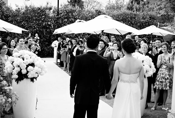 backyard wedding in Melbourne, Australia