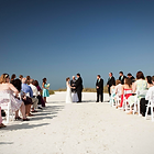 Melbourne Beach outdoor Wedding ceremony