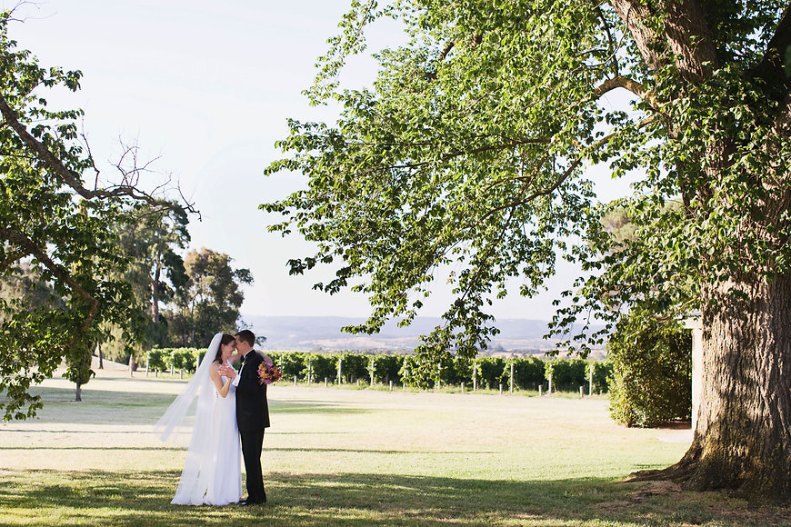 Stones of The Yarra Valley bride nad groom first dance