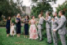 Groom waiting for bride at Lavandula wedding