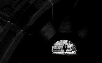 photo of engaged couple before wedding, Melbourne engagement photography