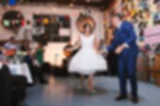 50's style wedding, australia