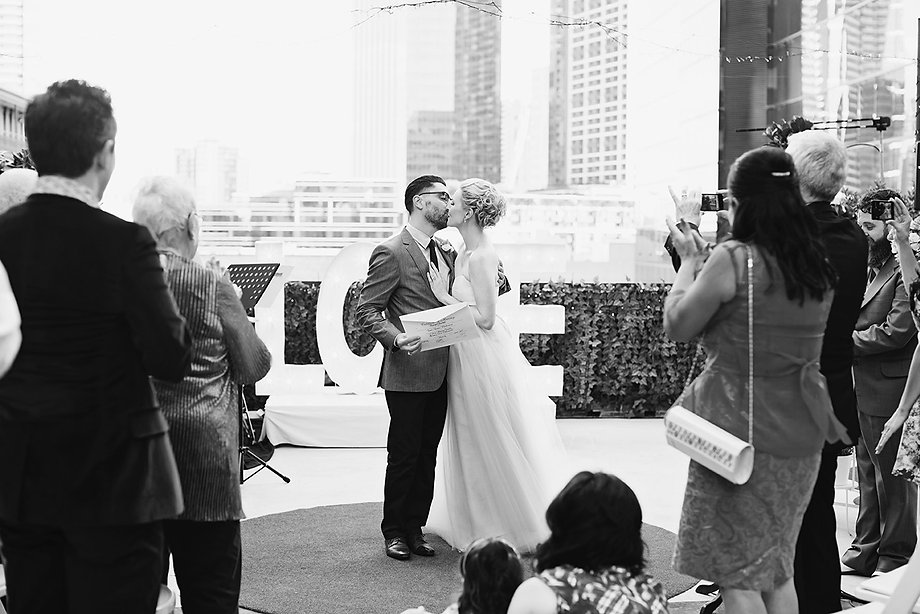 get married on a rooftop in Melbourne