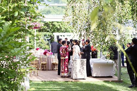 chinese garden wedding in Sydney