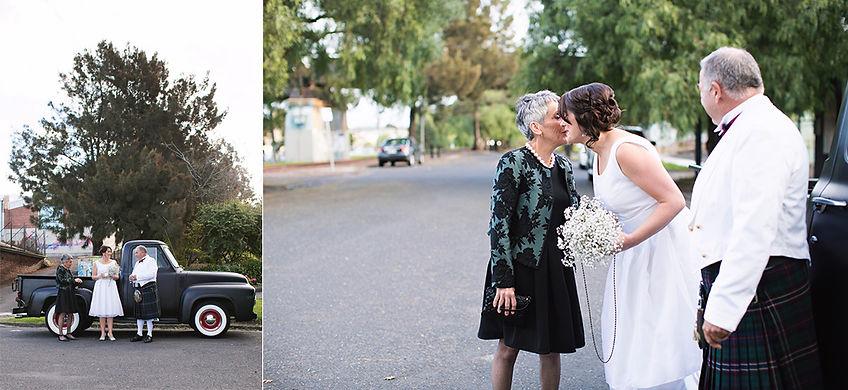 Wedding at footscray art center, melbourne