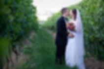 Yarra Valley wedding in the vines