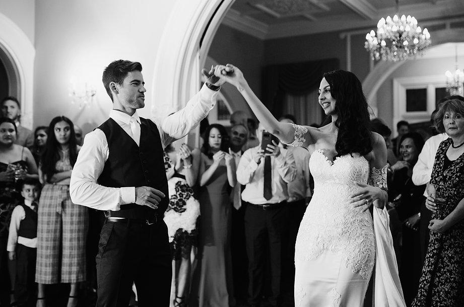 Melbourne Wedding dancing photos at reception