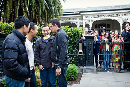 chinese traditions wedding games Melbourne
