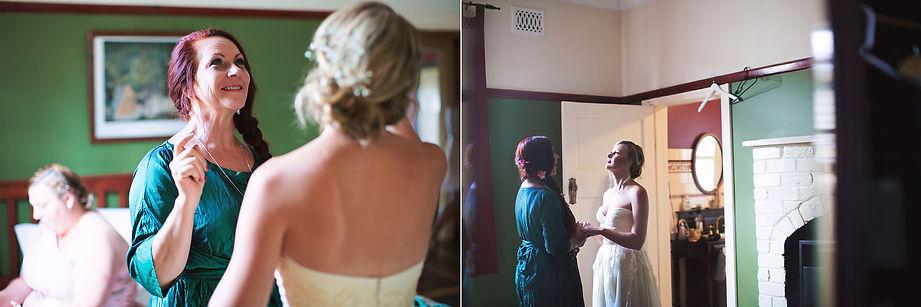 Daylesford wedding at Sault Restaurant