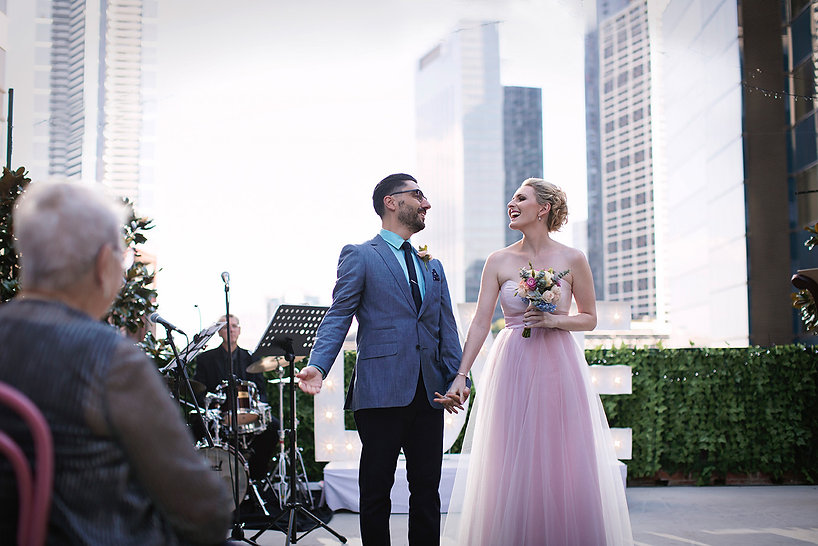 Unique wedding venues in Melbourne, rooftop