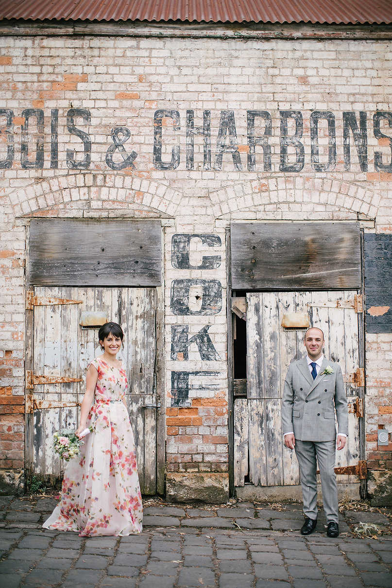 abbotsford convent wedding photo
