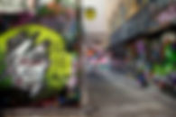 photo of Melbourne laneways
