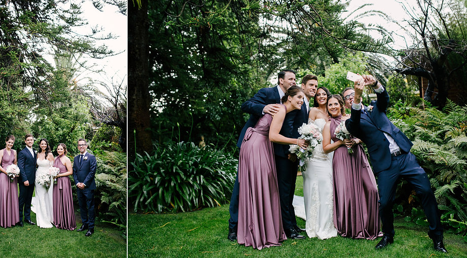 Melbourne garden wedding