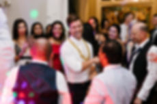 Dancing at geelong wedding reception
