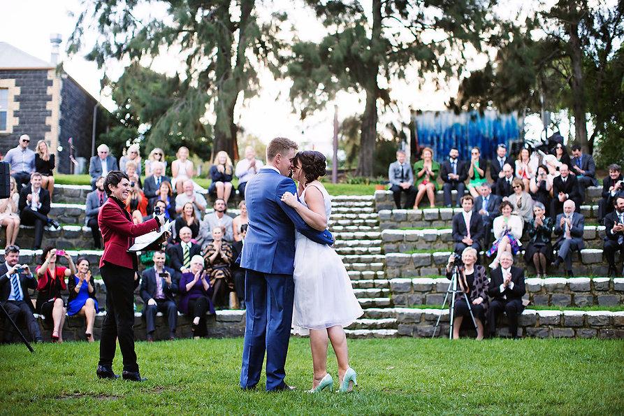 fotojojo | Footscray art center wedding photography