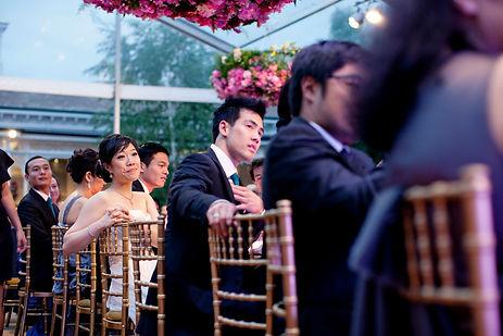 elegant wedding at home in Melbourne