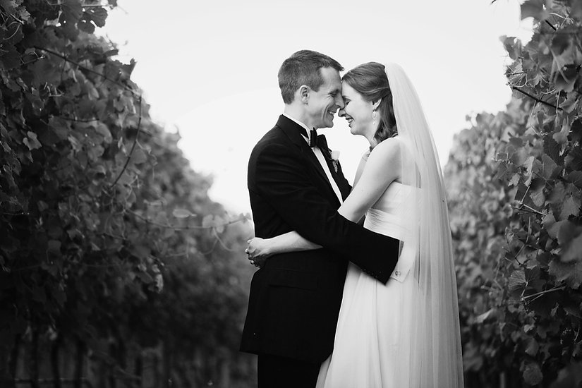 Stones of Yarra Valley wedding photos in the vines