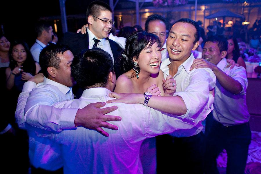 reception photos at Toorak wedding
