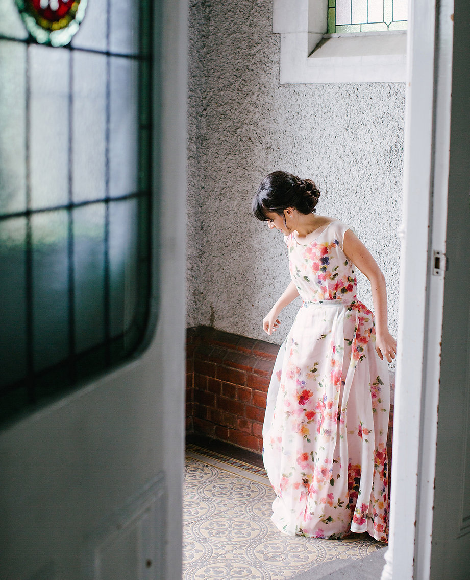 Bride at abbotsford convent