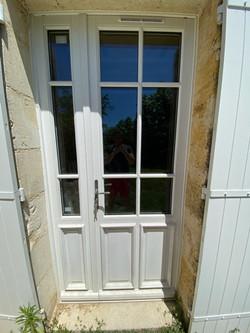 Porte fenêtre tiercé