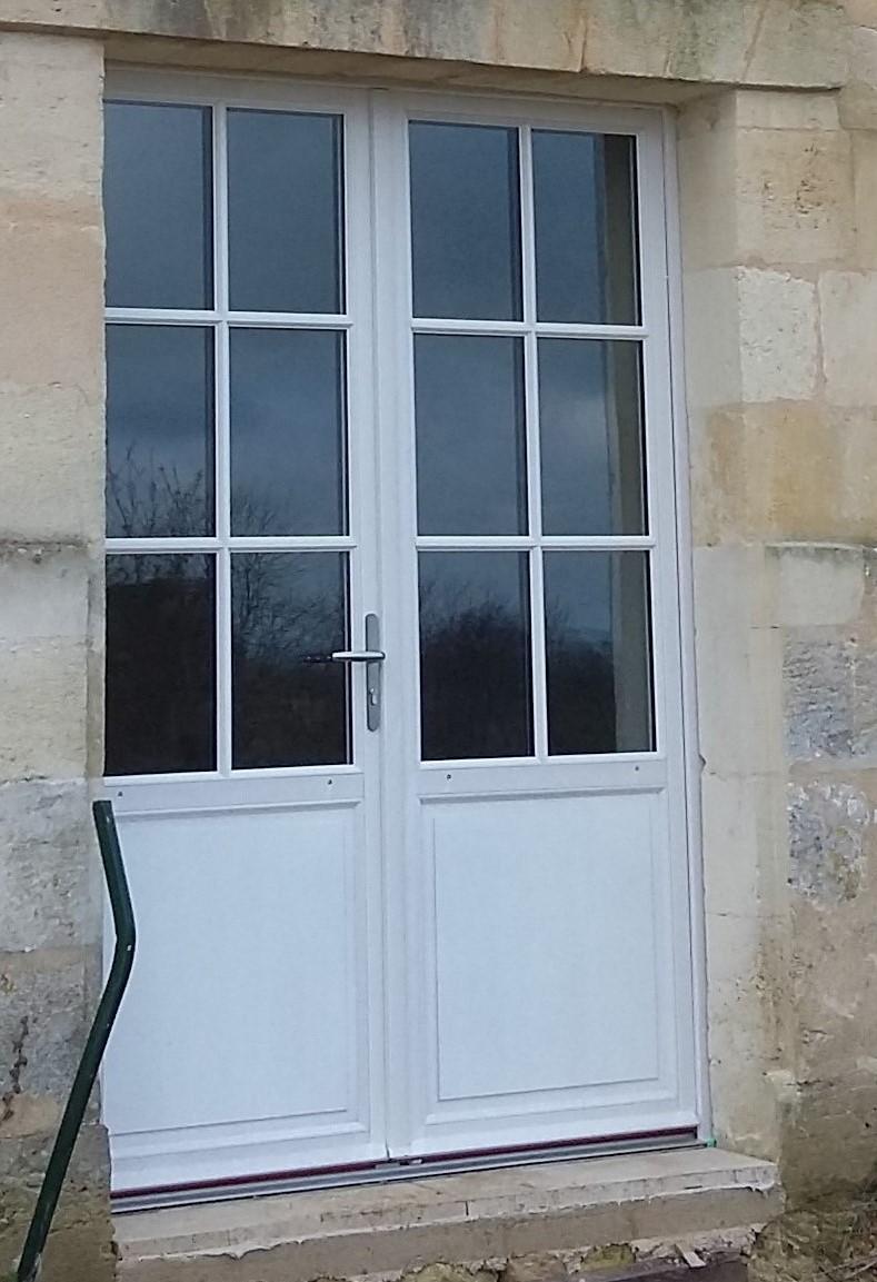 Porte fenêtre double