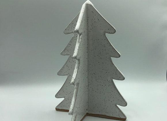 Winter trees, white, small