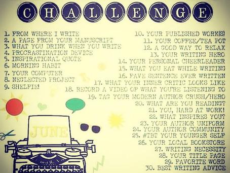 #AmWritingChallenge