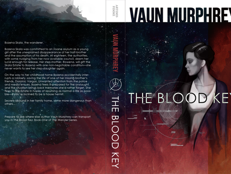 THE BLOOD KEY (Cover by Ian Taylor)