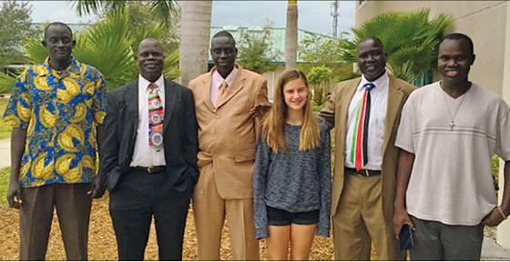 Incoming Freshman Sends Aid to Lost Boys of Sudan
