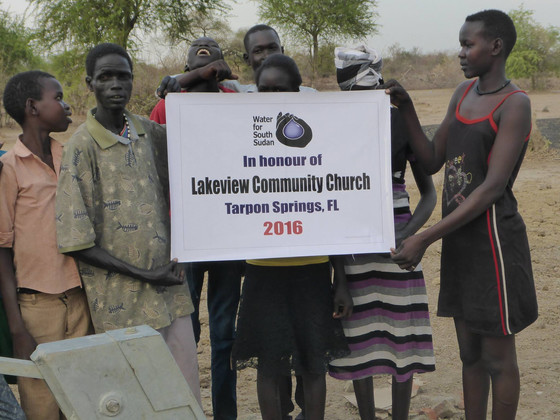 Lakeview Community Church Funds New Well